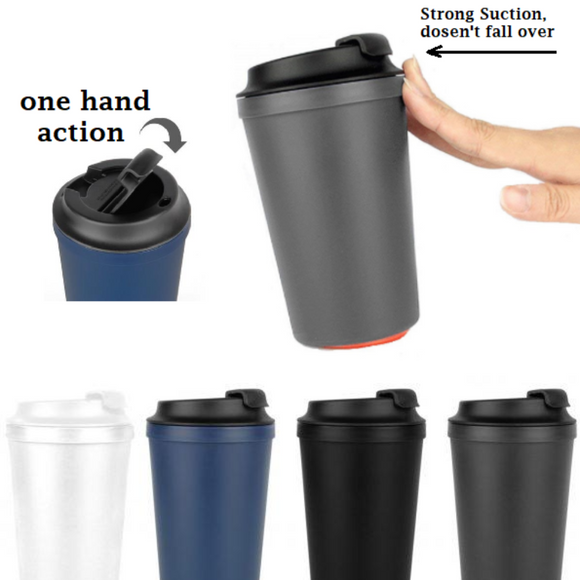 Suction Coffee Cup Anti-Slip Mug
