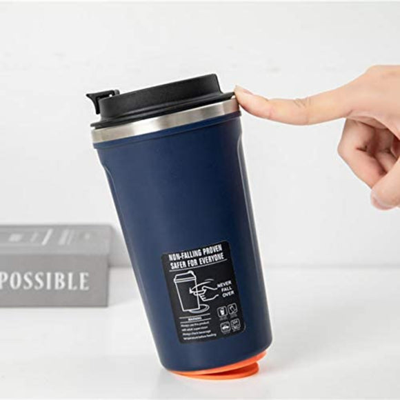 Safe 520ML Suction Stainless Steel Thermos Cup Never Fall Over