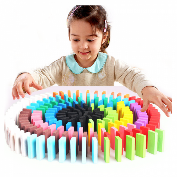 Domino Game Set for Kids and Adults