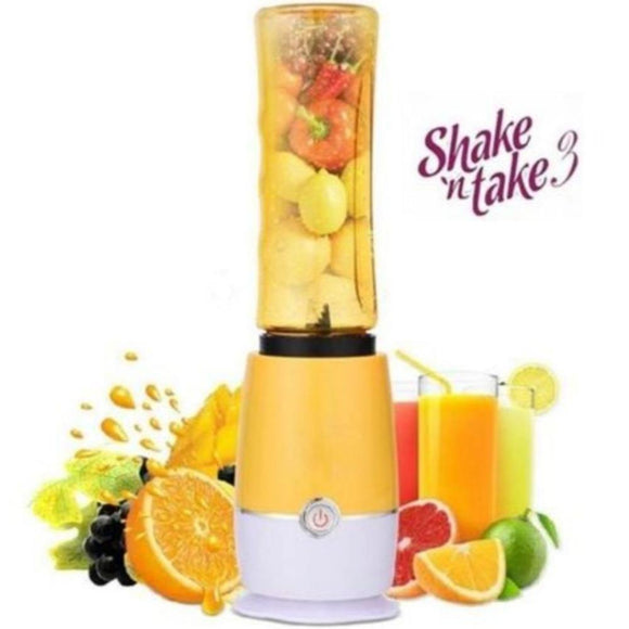 Shake N Take 3 Instant drink Shaker & Mixer With One Portable Cups (ICE Crusher) - DaZzoOL