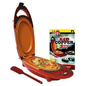 As Seen On TV Red Copper 5 Minute Chef - DaZzoOL