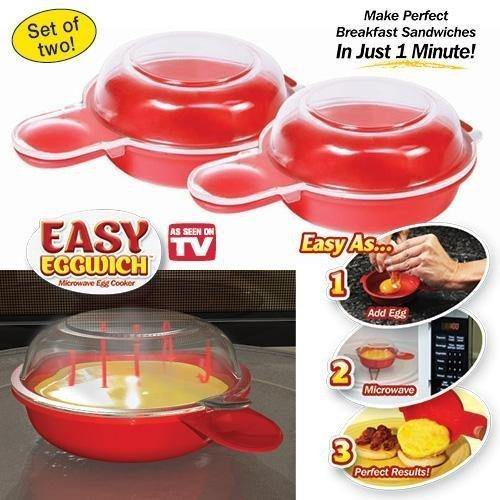 Easy Eggwich Microwave Egg Cooker - DaZzoOL