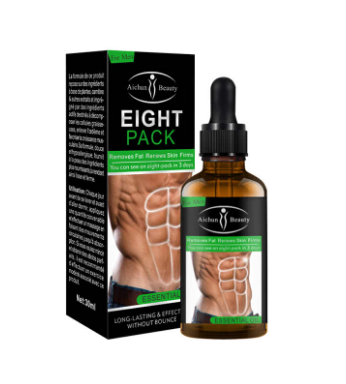 Aichun Beauty Eight Pack essential oil Fat remover & skin renewal for men 30ml - DaZzoOL