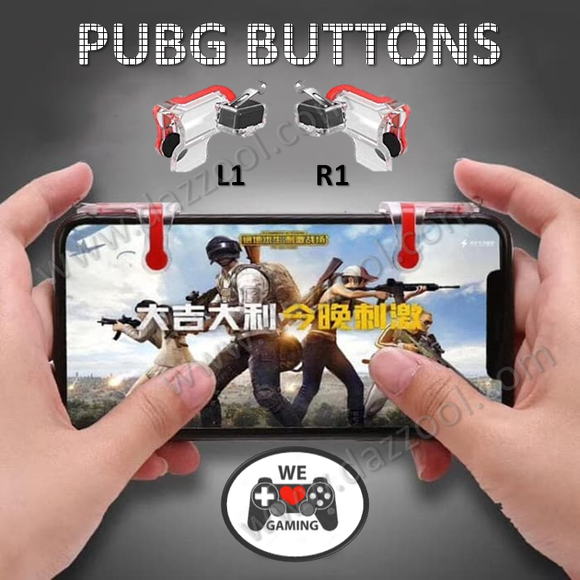 Pubg Universal Mobile Gaming Speed Up Buttons (Triggers) L1/R1 Sharpshooter - DaZzoOL
