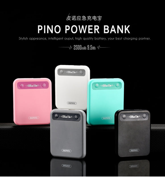 Remax 2500mAh Pino Mobile Mini Power Bank