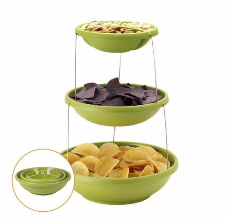 3 Tiers Twisted Party Bowls - DaZzoOL