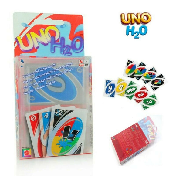 UNO H2O Waterproof Clear Plastic Card