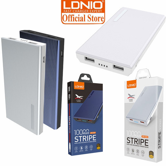 Power Bank - LDNIO PR1002 Stripe High-End Business Power Bank