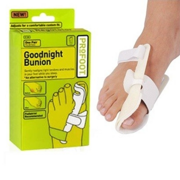 Fits All Sizes, 1 Pair Packages Goodnight Bunion