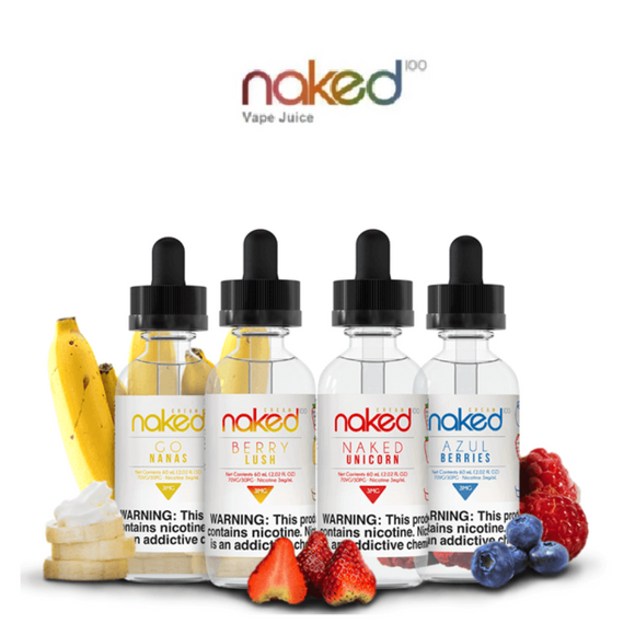 Original Cream E-Liquids Collection 60ml NAKED 100