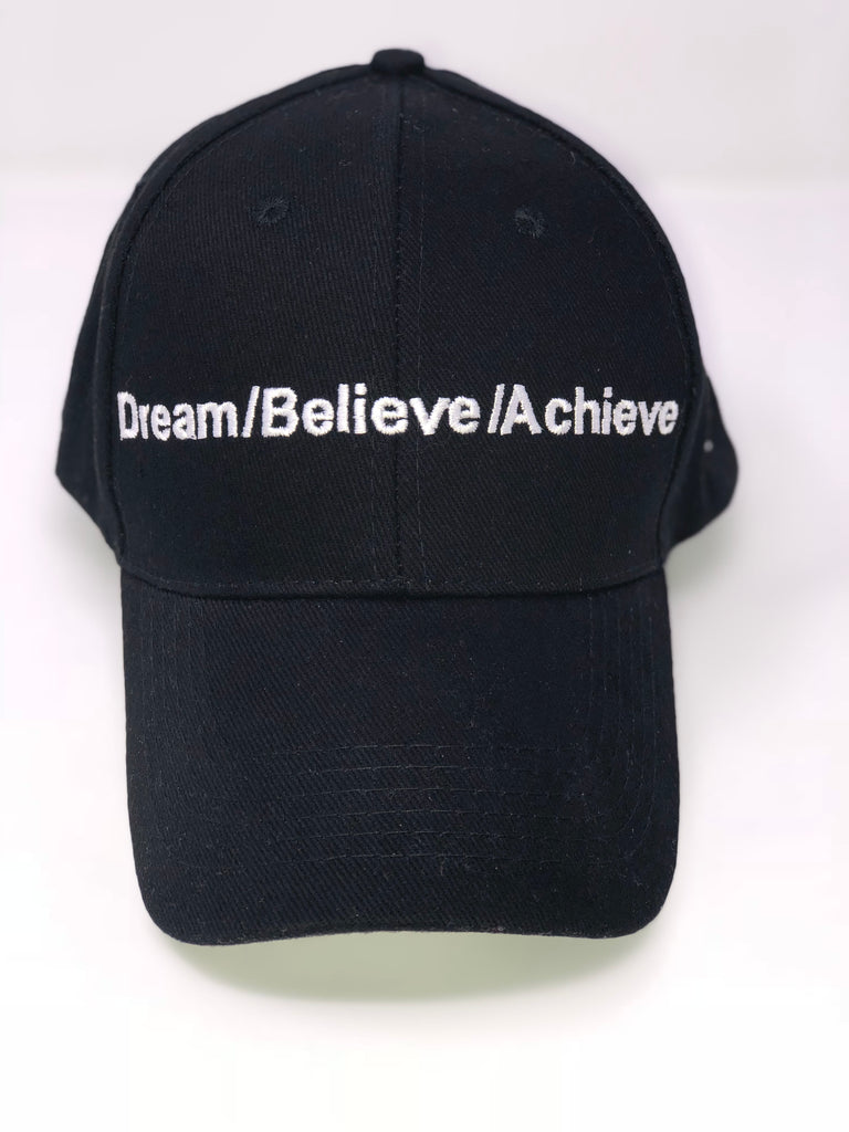 DREAM | BELIEVE | ACHIEVE Baseball cap A7 logo