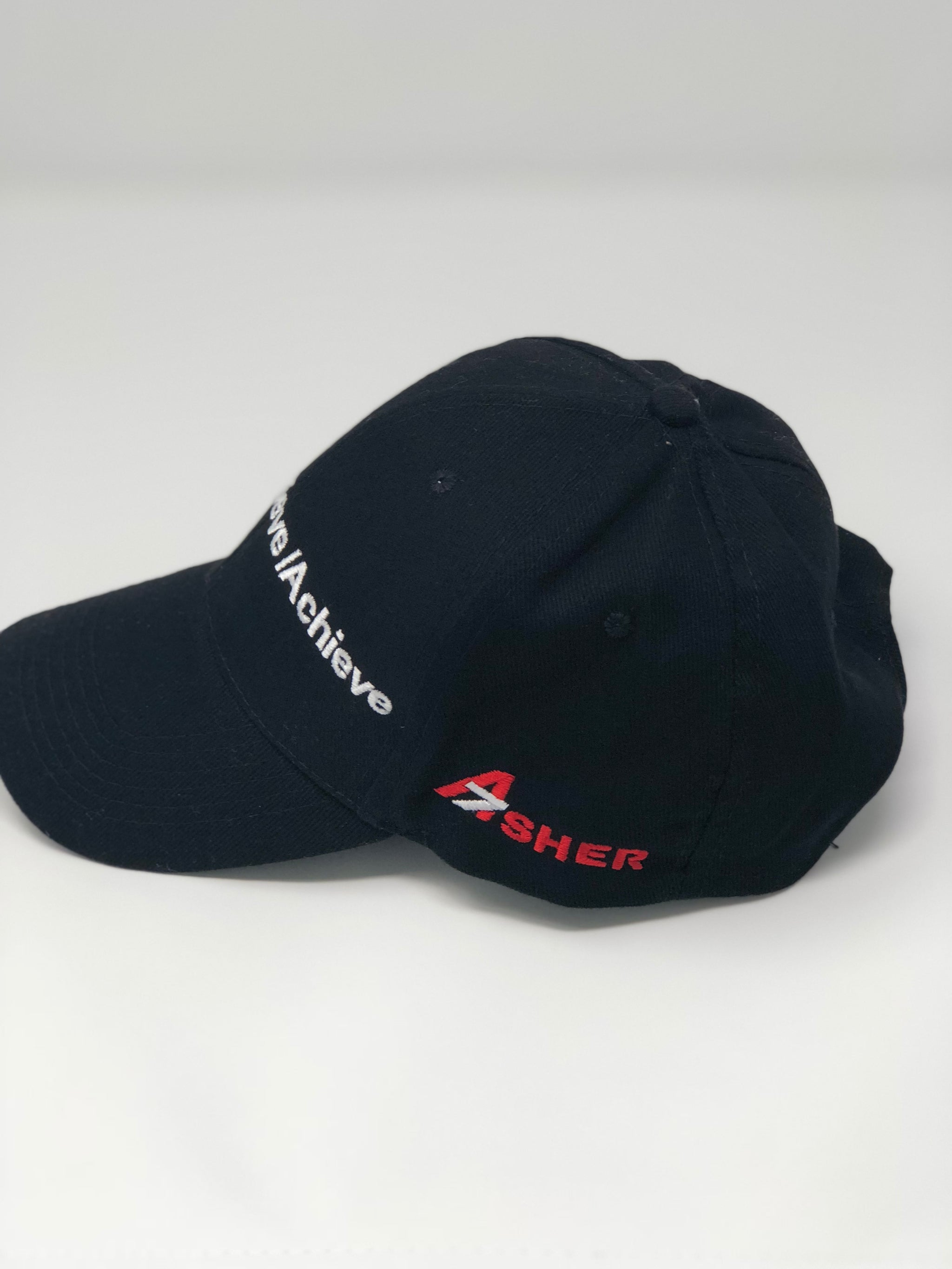 DREAM | BELIEVE | ACHIEVE Baseball cap A7 logo right profile image
