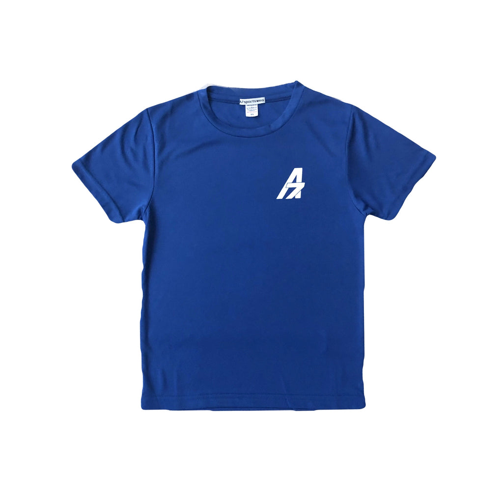 A7Asher children's Football Performance Training Kit - Blue