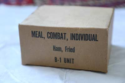 Meal Combat Individuals (MCI) rations were not very popular. Meals Ready to Eat (MREs) have shown great improvement on military nutrition.