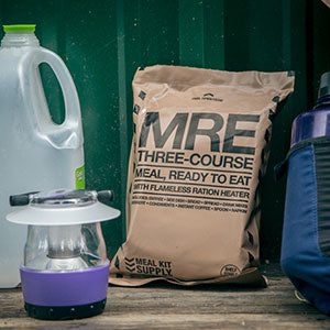 MREs are the gold standard field ration for emergency workers and first responders across North America.