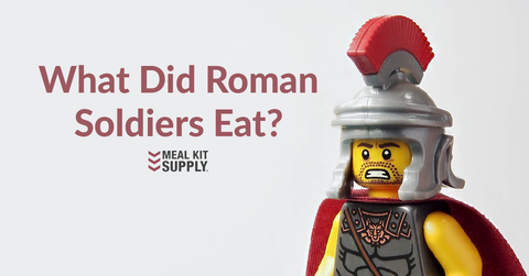 what did roman soldiers eat