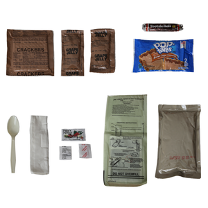 MRE 16 Pack w/ Flameless Ration Heaters 5-Year Shelf Life