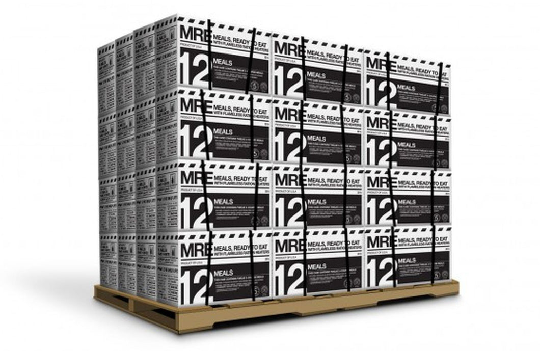 Pallet of MRE 12-Pack