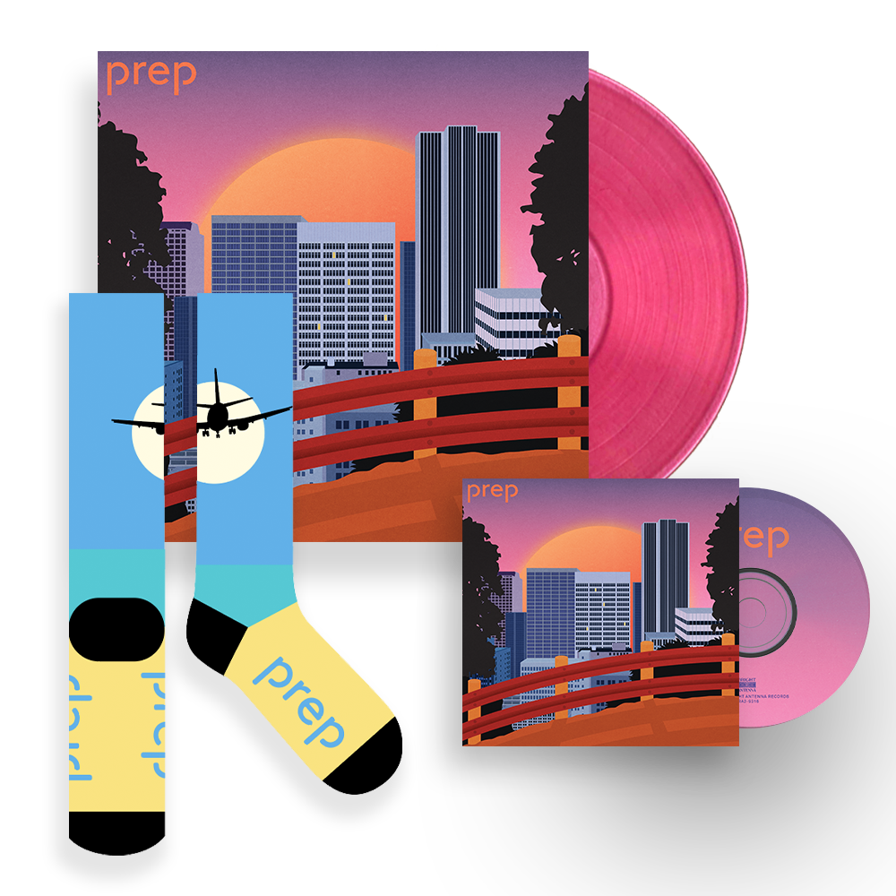 'Prep' Bundle #1 - CD/Vinyl/Socks