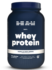 beam be amazing vanilla soft serve whey protein naturally flavored clean ingredients