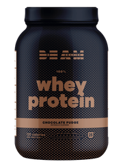 best tasting 100% whey protein isolate chocolate fudge flavor by beam be amazing