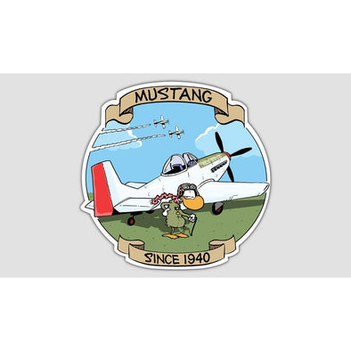 "SWAMP® ""MUSTANG"" Sticker"