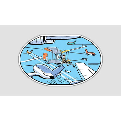 "SWAMP® ""CONTROLLED AIRSPACE"" Sticker"