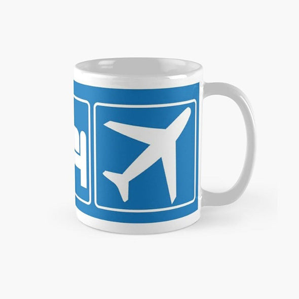 Eat Sleep Fly Mug