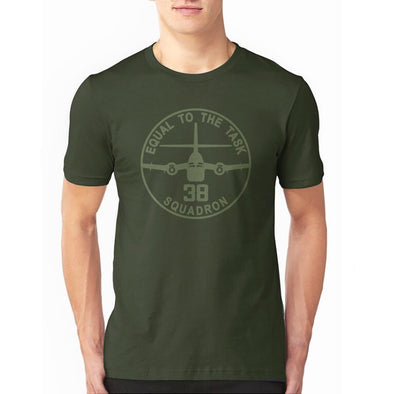 "CARIBOU 38SQN ""EQUAL TO THE TASK"" T-Shirt"