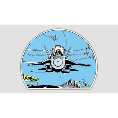 "SWAMP® ""AIRSHOW"" Sticker"