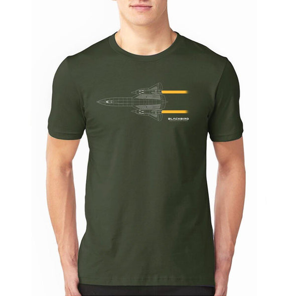 LOCKHEED SR-71 BLACKBIRD T-Shirt