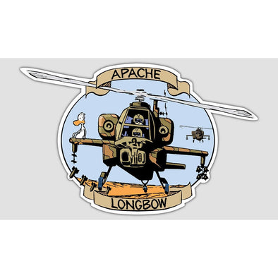 "SWAMP® ""APACHE LONGBOW"" Sticker"