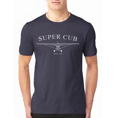 Line Art Design of Piper Super Cub makes great T Shirt design