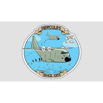 "SWAMP® ""HERCULES"" Sticker"