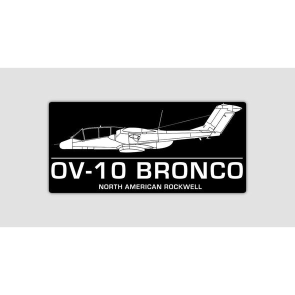 OV-10 BRONCO Sticker