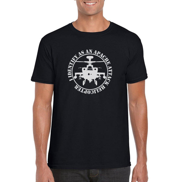 I IDENTIFY AS AN APACHE ATTACK HELICOPTER T-Shirt