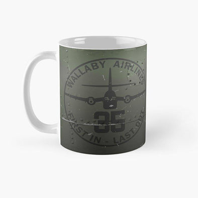 "CARIBOU ""WALLABY AIRLINES"" Mug"