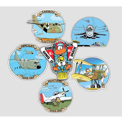 SWAMP® WARBIRD COLLECTOR'S Sticker Pack