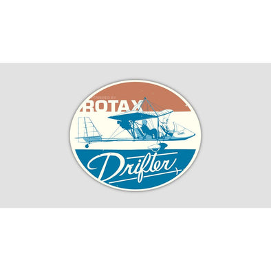 RETRO DRIFTER Sticker
