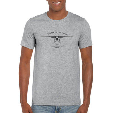 "FIESELER FI156 STORCH ""STOL World Champion since 1937"" T-Shirt"