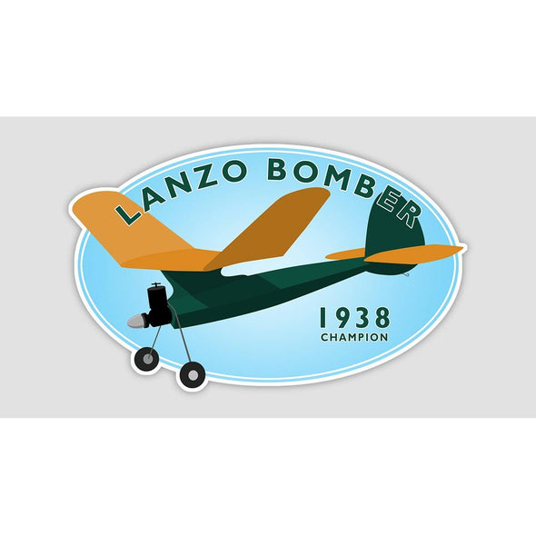 LANZO BOMBER Sticker