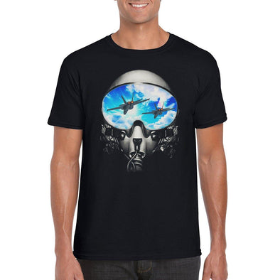 FIGHTER PILOT  Unisex Semi-Fitted T-Shirt