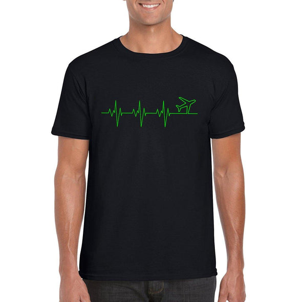 HEARTBEAT Unisex Semi-Fitted T-Shirt