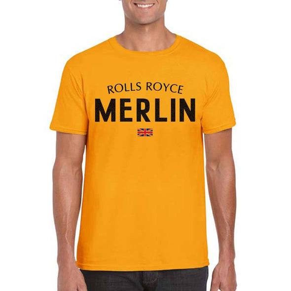 MERLIN Unisex Semi-Fitted  T-Shirt