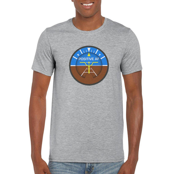 POSITIVE AF Semi-Fitted Unisex T-Shirt