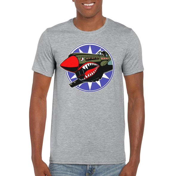 FLYING TIGERS Semi-Fitted Unisex T-Shirt