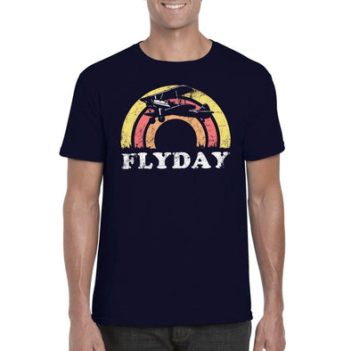 FLYDAY Semi-Fitted Unisex T-Shirt