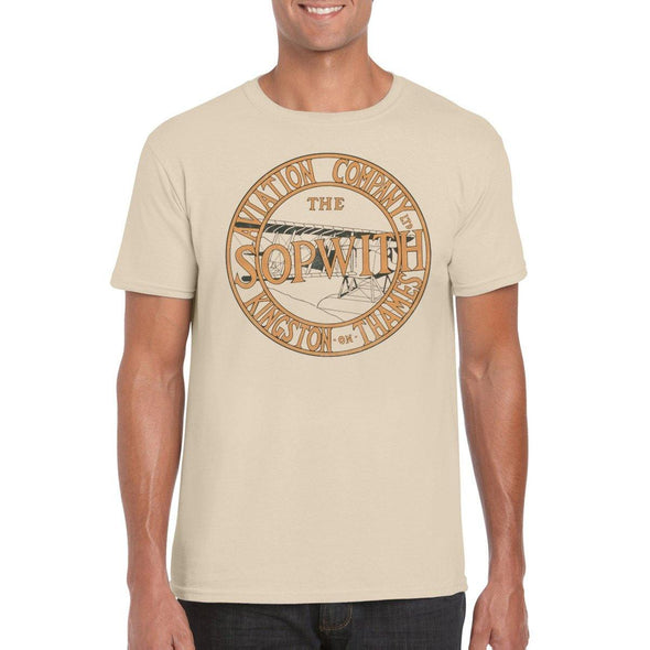 SOPWITH AVIATION COMPANY Semi-Fitted Unisex T-Shirt