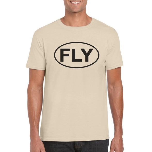 FLY Semi-Fitted Unisex T-Shirt