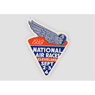 National Air Races Vintage Sticker
